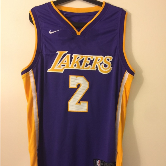 Lonzo Ball  2 Los Angeles Lakers Jersey 34a272318